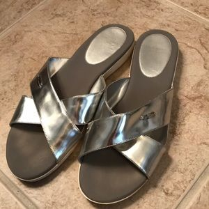 Cole Haan slip on sandals